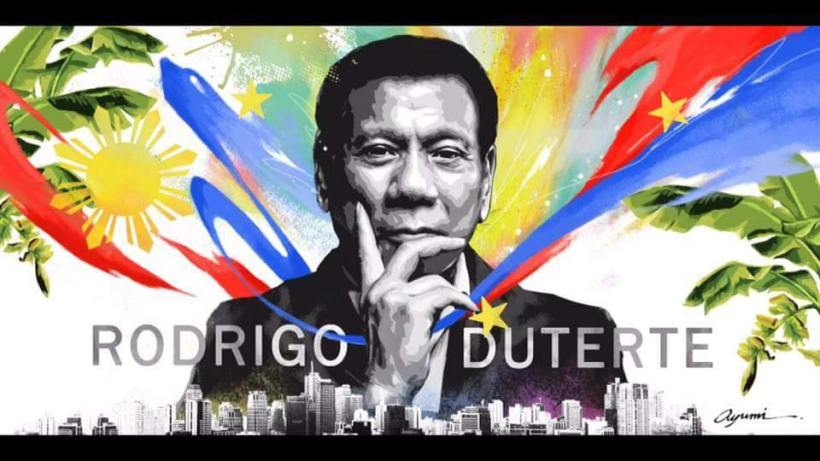 Duterte-portrait-by-Japanese-artist